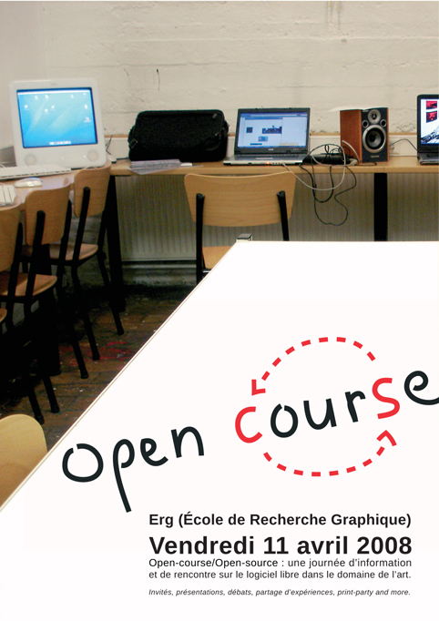 Open-course/Open-source affiche