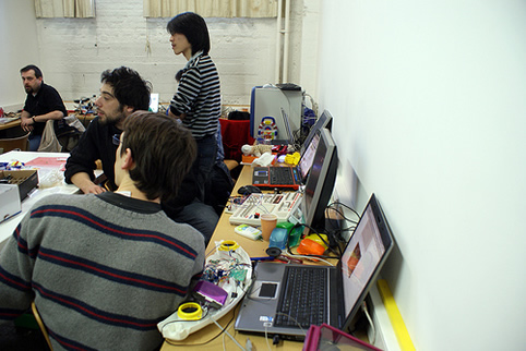 Workshop Arduino à l'Erg