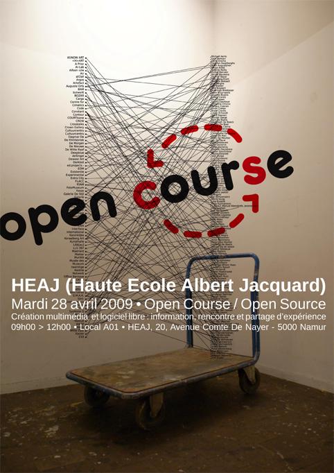 Open-course/Open-source affiche
