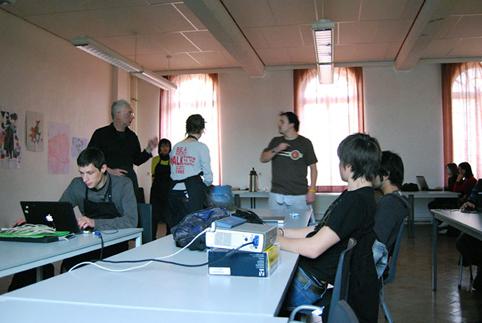 Journée Open-Course / Open-Source à l'Esapv - Mons