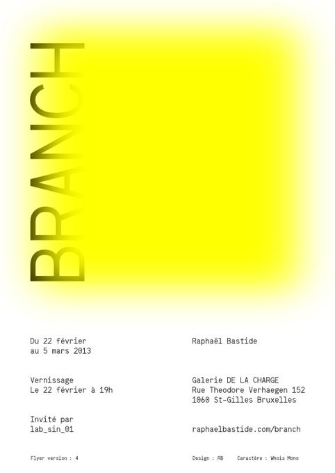 Exposition Raphaël Bastide
