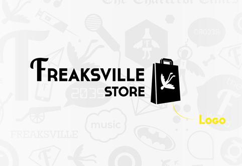Identité visuelle Freaksville Store