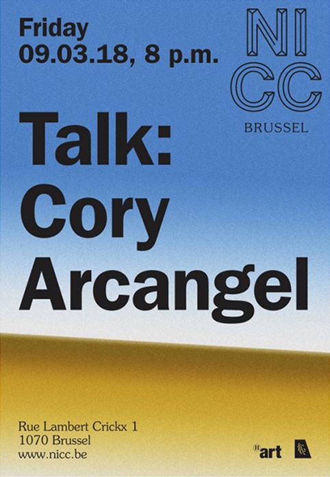 Cory Arcangel au NICC à Bruxelles
