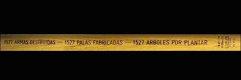 Pedro Reyes : Pistolas por Palas (2008)