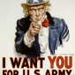 James MontgomeryFlagg : Uncle Sam Recruitment Poster (1917)