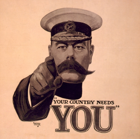 "Alfred Leete : London opinion ""Your country needs you"" (1914)"