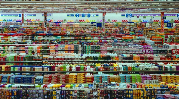 Andreas Gursky : 99 cent (1999)