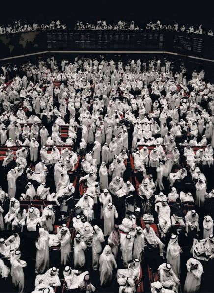 Andreas Gursky : Kuwait Stock Exchange (2007)