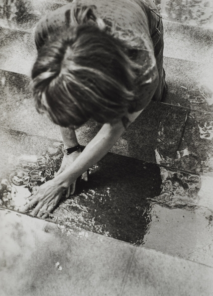 Mierle_Laderman_Ukeles_Hartford_Wash_Washing_Tracks_Maintenance_Outside_1973_04