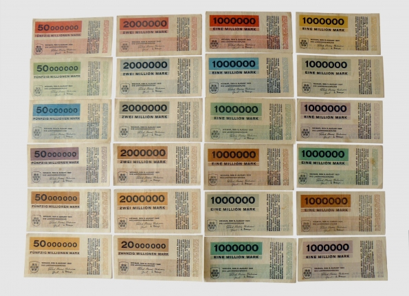 1923_Herbert Bayer_Mark_Banknotes_1923_02