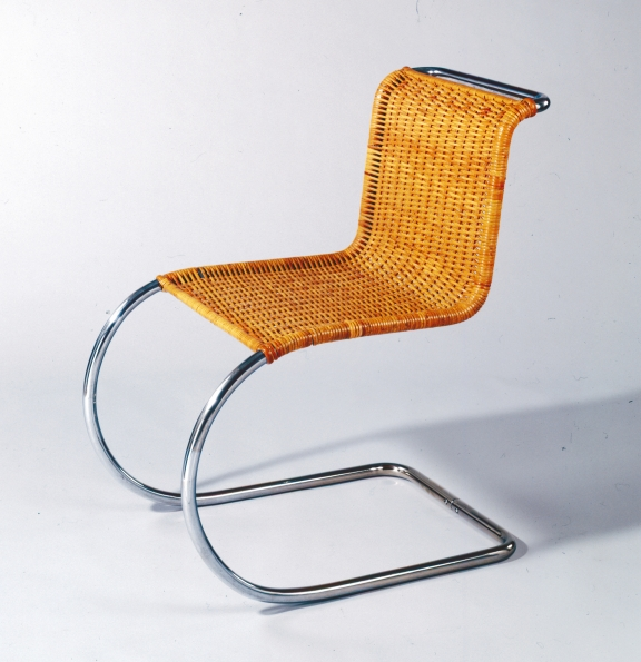 1927_Ludwig_Mies_Van_der_Rohe_Cane_Cantilever_Chair_1927