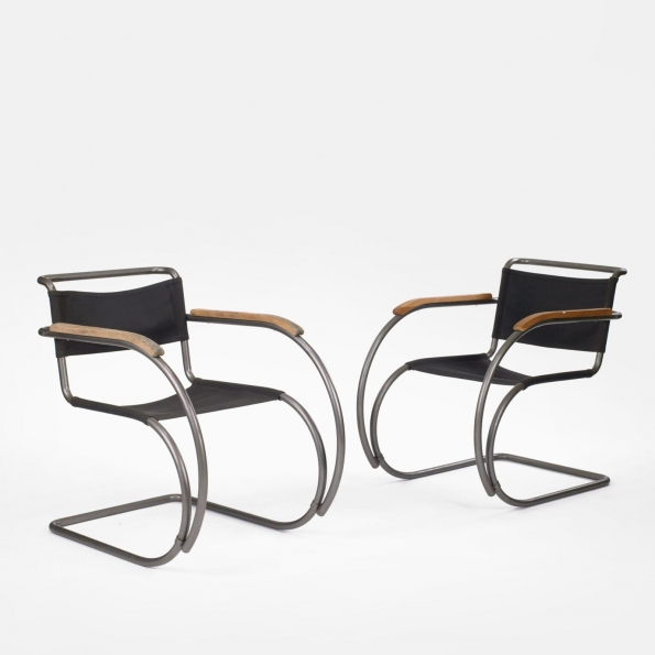 1927_Ludwig_Mies_van_der_Rohe_MR20_chair_1927