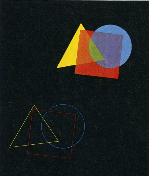 1929–1930_Eugen_Batz_Exercise_for_color-theory_course_taught_by_Vasilly_Kandinsky_1929–1930