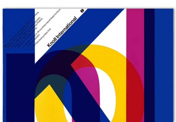 Vignelli_Associates_Knoll_International_poster_1966