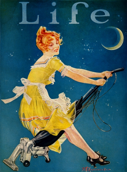 1923_F.A.Leyendecker_Life_Magazine_cover_October_1923