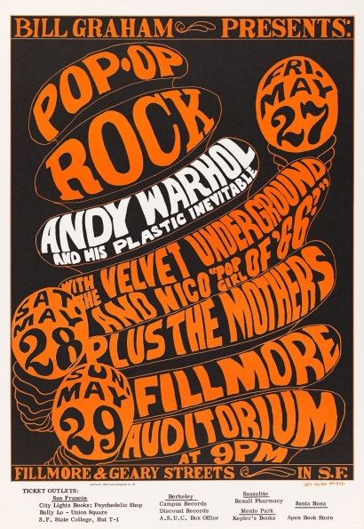 1966_Wes_Wilson_Andy_Warhol_and_His_Plastic_Inevitable_Fillmore_Auditorium_poster_1966