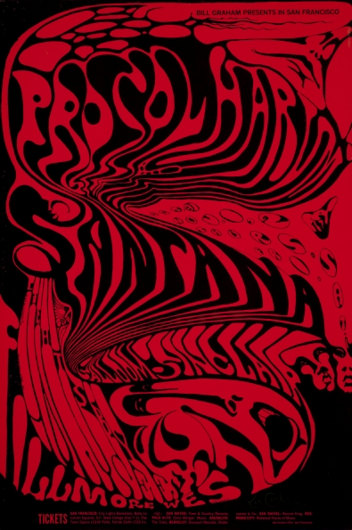 1968_lee_conklin_fillmore_west_procul_harum_santana_poster_1968
