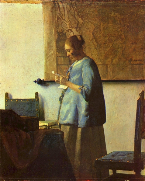 1662_Johannes_vermeer_Woman_in_Blue_Reading_a_Letter_1662