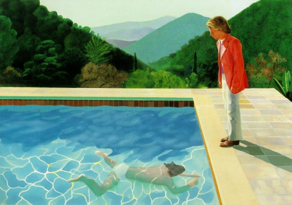 1971_David_Hockney_Portrait_of_an_Artist_Pool_with_Two_Figures_1971