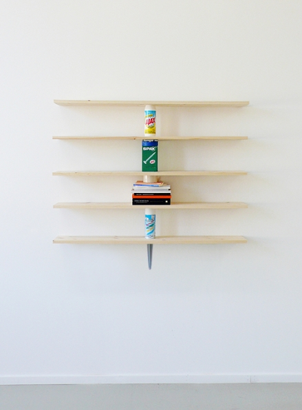 2010_Daniel_Eatock_Wall_Shelves_Supported_by_the_Objects_they_Bear_2010