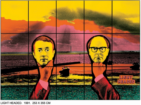1991_Gilbert_and_George_Light_headed_1991