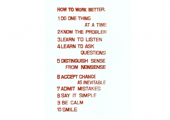 Peter_Fischli_and_David_Weiss_How_to_work_better_1991