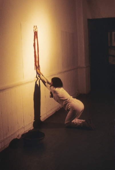 1982_Ana_Mendieta_Body_Tracks_1982