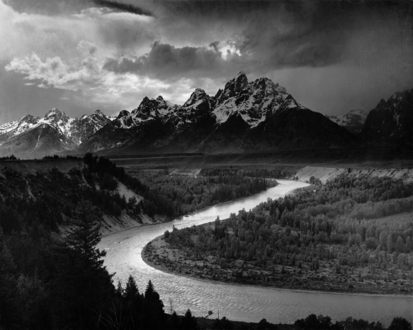 1942_Ansel_Adams_The_Tetons_and_the_Snake_River_1942