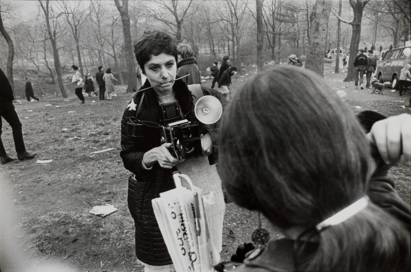 1969_Garry_Winogrand_Diane Arbus_Love-In_Central Park_NYC_1969
