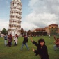 1990_Martin_Parr_Italy_Pisa_The_Leaning_Tower_of_Pisa_1990