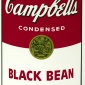 Andy Warhol : Black Bean (1968)