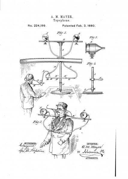 1880_Alfred_M_Mayer_Topophone_Patented_Feb_3_1880_01