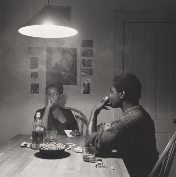 Carrie_Mae_Weems_Untitled_Man_smoking_The_Kitchen_Table_Series_1990